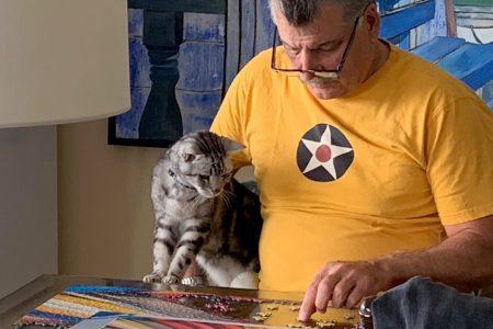 Keith Hernandez on His Cat Hadji's Favorite Things